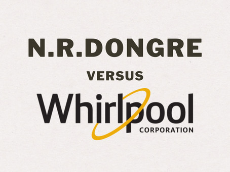 N.R. Dongre v. Whirlpool Corp.