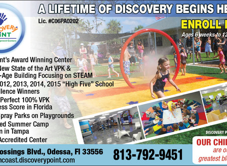 Top-Rated Discovery Point Suncoast Crossings and Christian Crossings Academy are Excellent Choices f