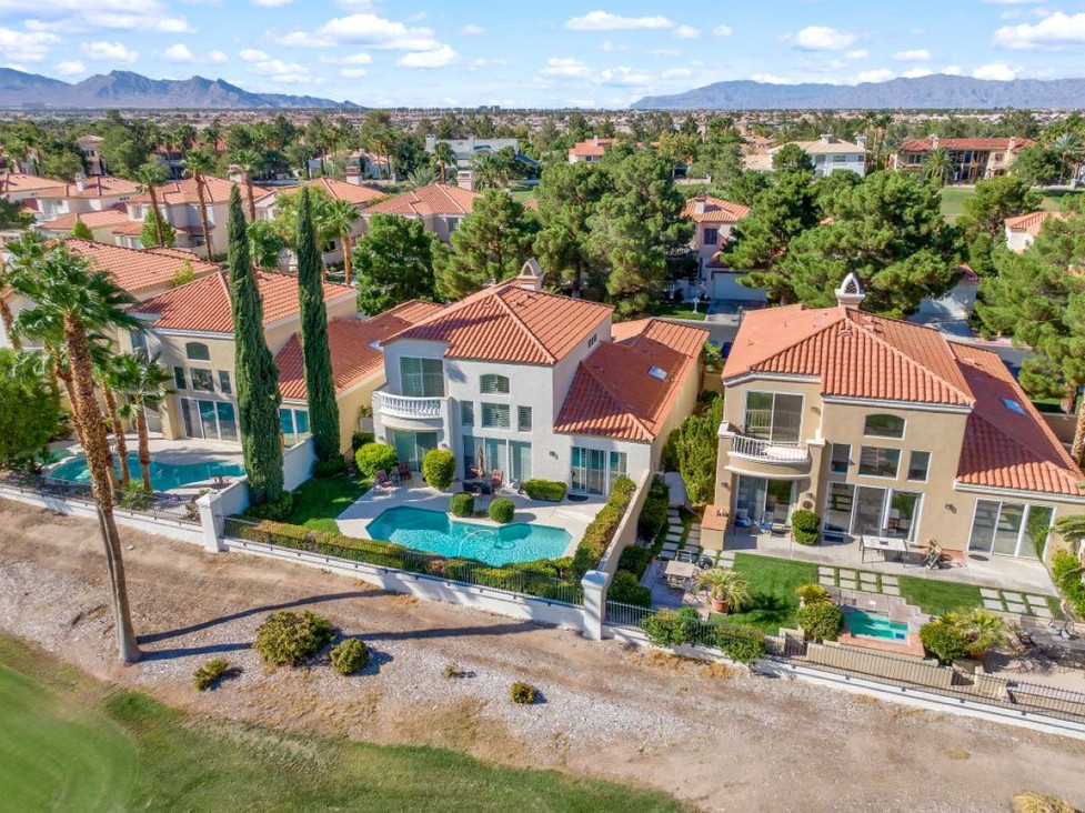 Las Vegas real estate drone photography