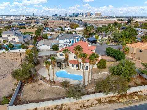 Las Vegas real estate drone photographer