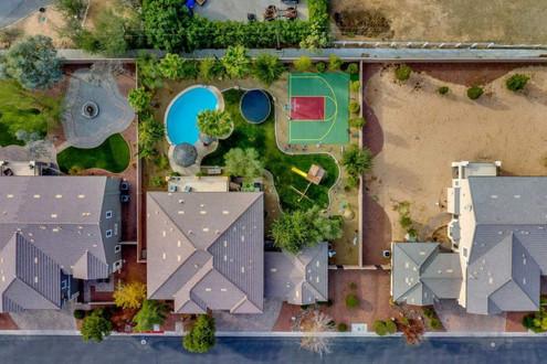 aerial photography Las Vegas