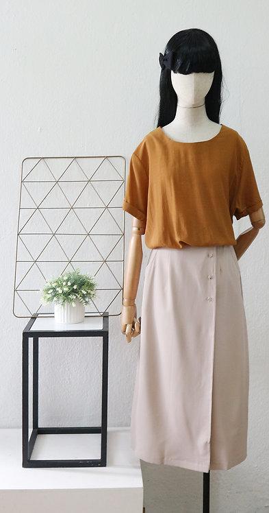 Back cut out blouse