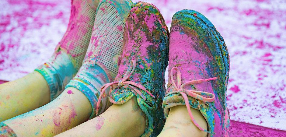 Scarpe Coperto in polvere Colore