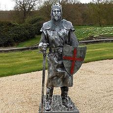human Statues - Knight
