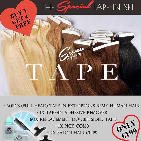 Tape In Hair Extensions Cyprus Seena Hair Shop