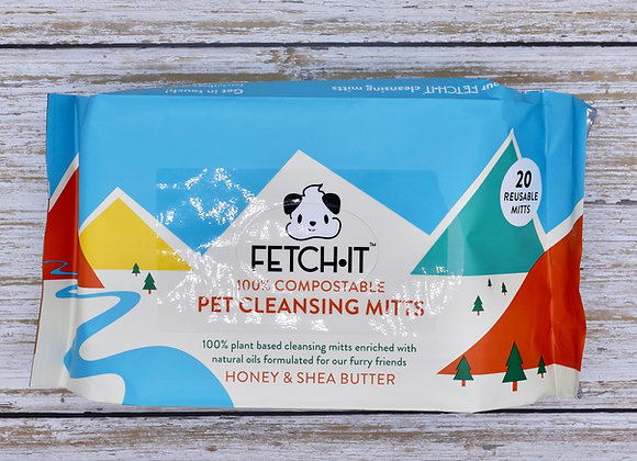 FETCH·IT 100% Compostable Plant Based Mitts (Wipes)