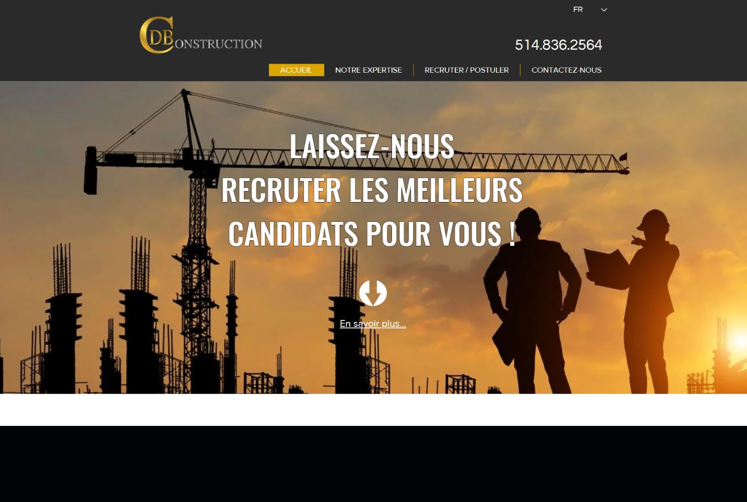 DBC Construction Recrutement - Longueuil