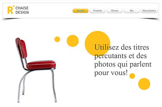 Image de site Web pour illustration  - création de sites internet