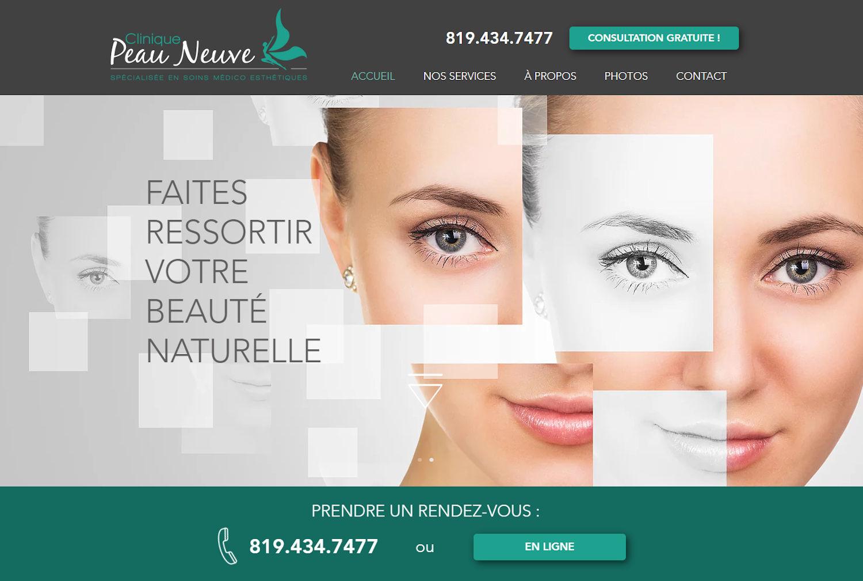 Clinique peau neuve - Sherbrooke, QC