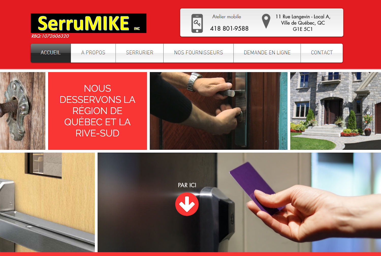 Serrumike Serrurier - Québec