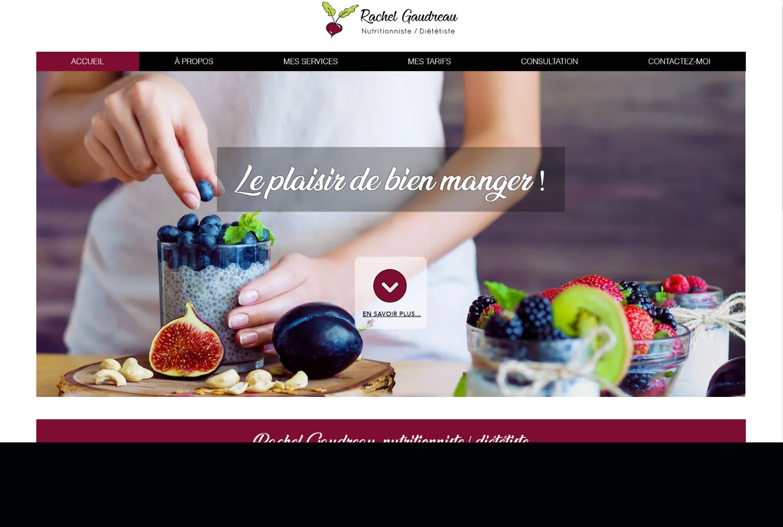 Rachel Gaudeau Nutritionniste - Québec