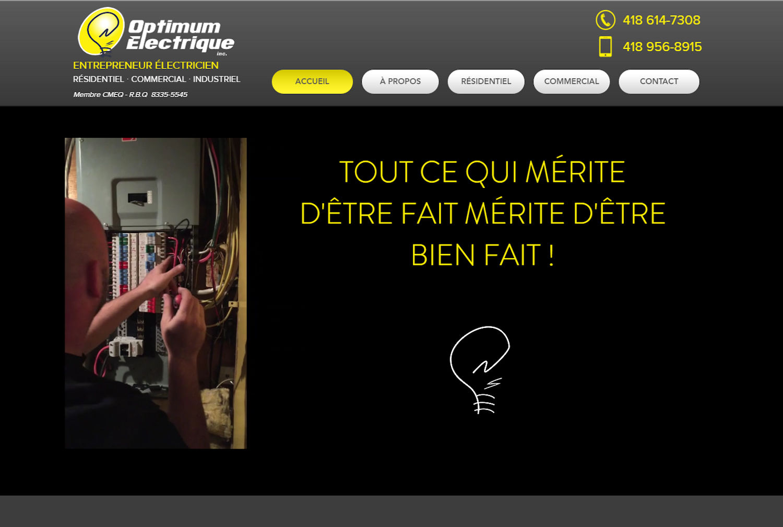 Optimum Électrique - Ville de Québec