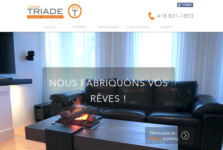 Mobilier TRIADE - Saint-Nicolas