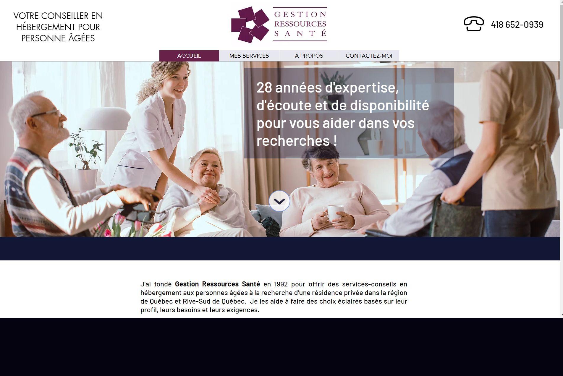 Gestion Ressources Santé - Québec