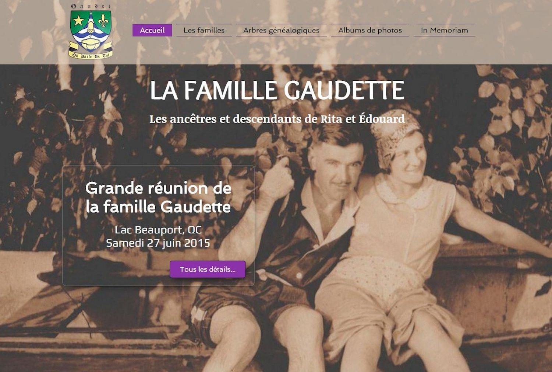 La Famille Gaudette - Québec