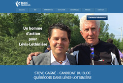 Steve Gagné candidat BQ - Lévis