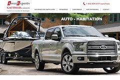 Forfait site Web à une page - 1 page - à 725$  - bas prix - économique - pas cher!