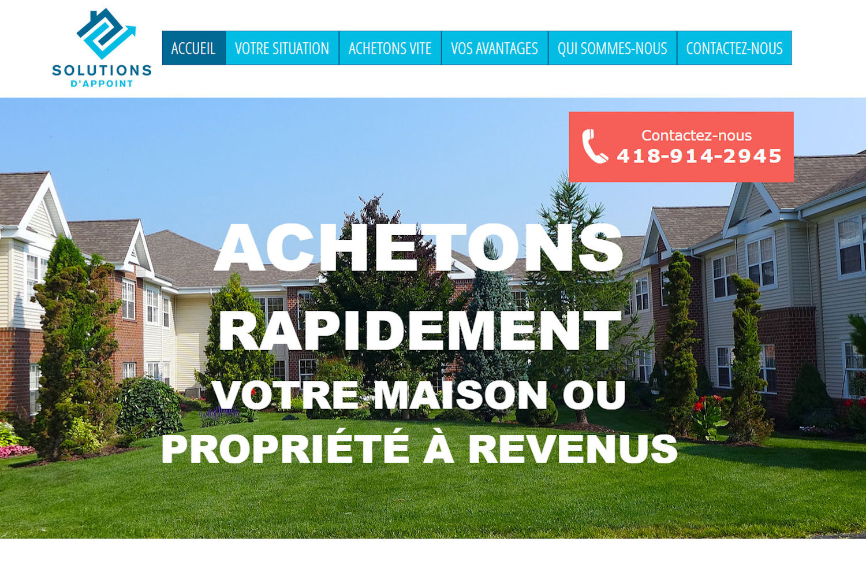 Solutions d'appoint -Ville de Québec