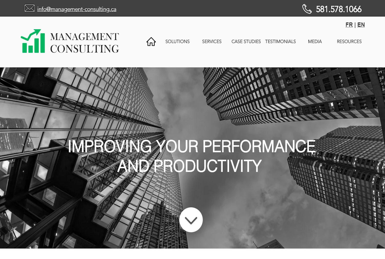 Management-Consulting - Québec