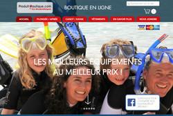 Boutique en ligne - Produit Nautique