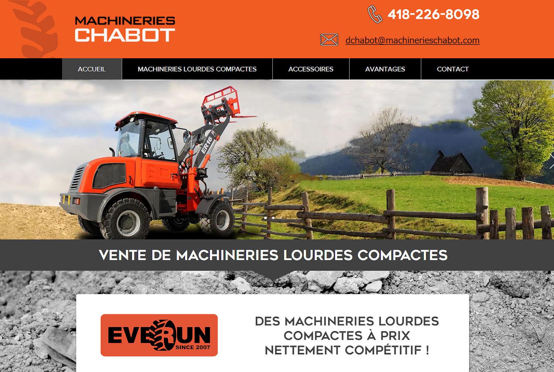 Machineries Chabot - Beauce - Québec