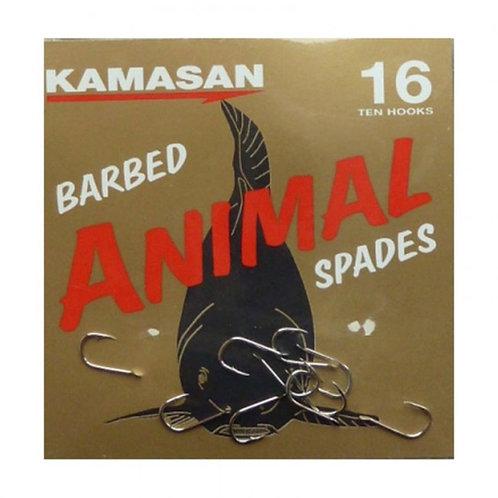 kamasan animal spade con paletta e ardiglione