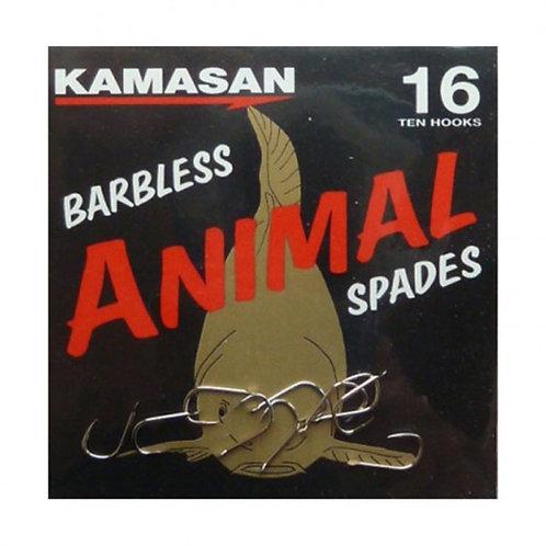 kamasan animal spade con paletta e senza ardiglione
