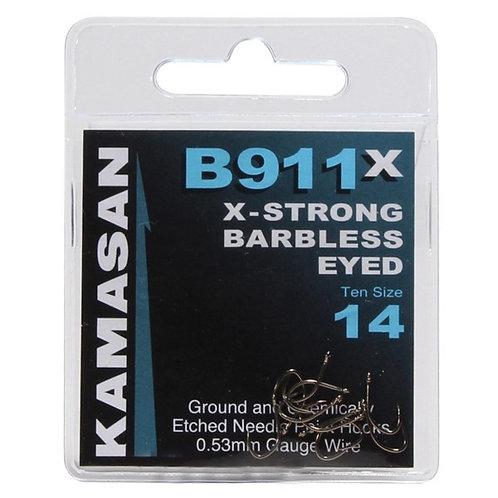 Ami KAMASAN B911 X-Strong Eyed (con occhiello) Barbless