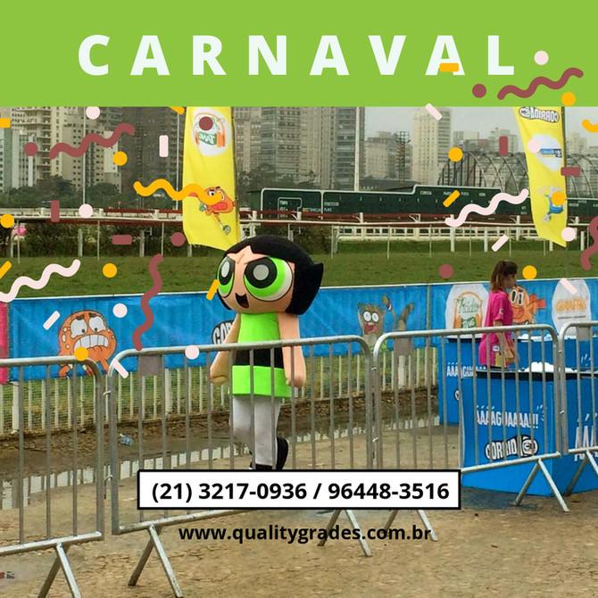 Locação / Aluguel Grade Carnaval 2020