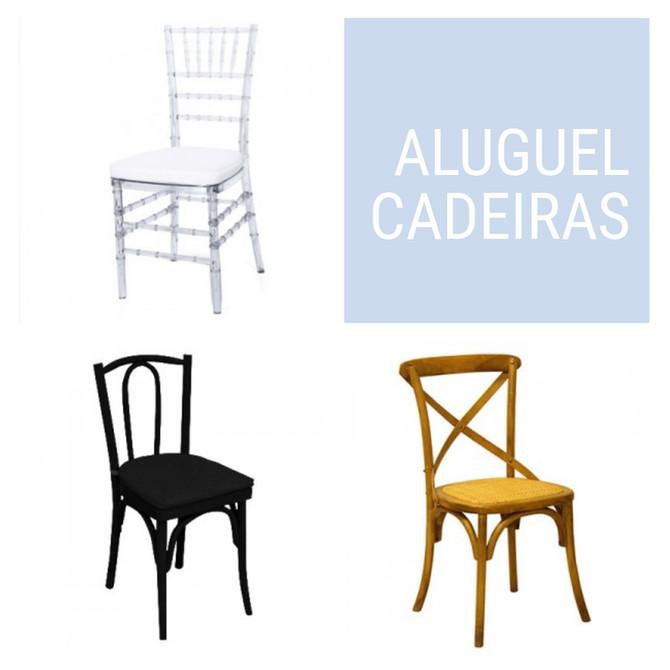 Aluguel de Cadeira - Rio de Janeiro
