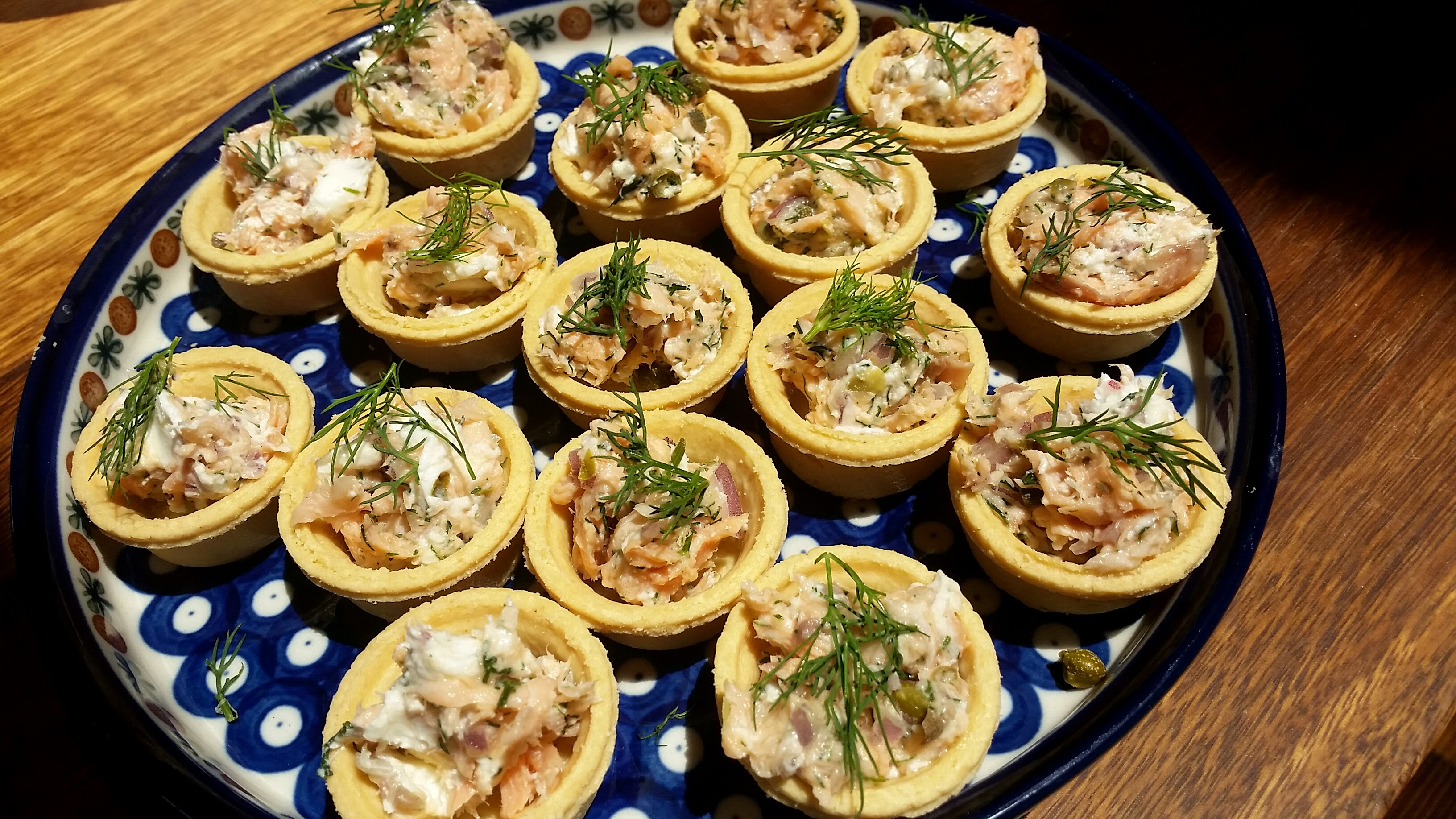 Hot smoked trout dip