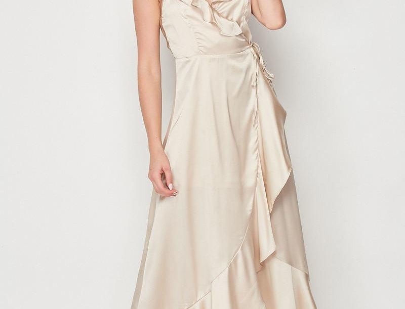 Starstruck Satin Dress