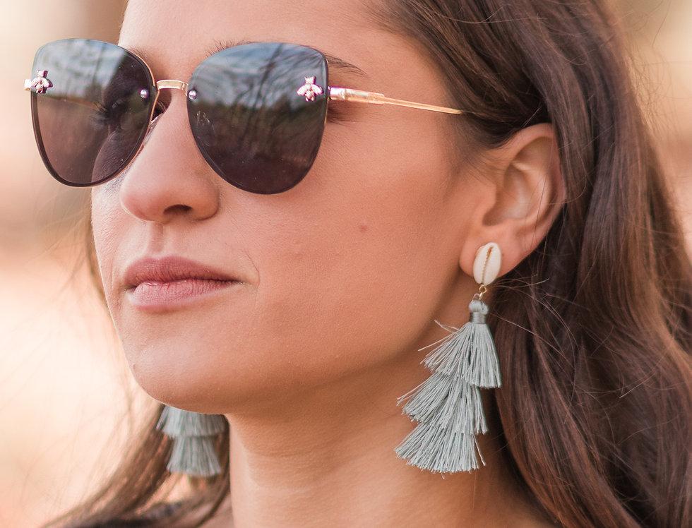 Shellebrate Tassle Earrings