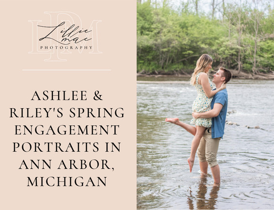 A Beautiful Engagement Session with Riley & Ashlee in Ann Arbor, Michigan