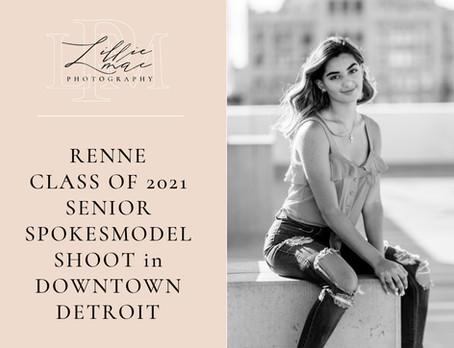 Renee / Class of 2021 senior spokesmodel / Michigan Portrait Photographer