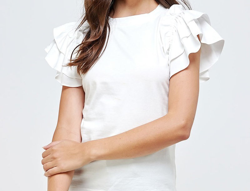 Margot Frilly Top