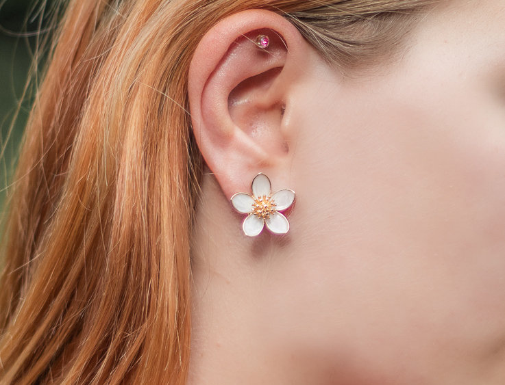 Feeling Floral Daisy Earrings