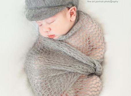 Baby Blake Newborn SEssion / Michigan Photographer