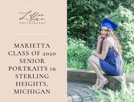 Marietta / Class of 2020 / Senior Portraits / Michigan Photographer