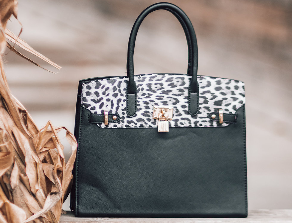 Leopard on the Streets Handbag and Wallet