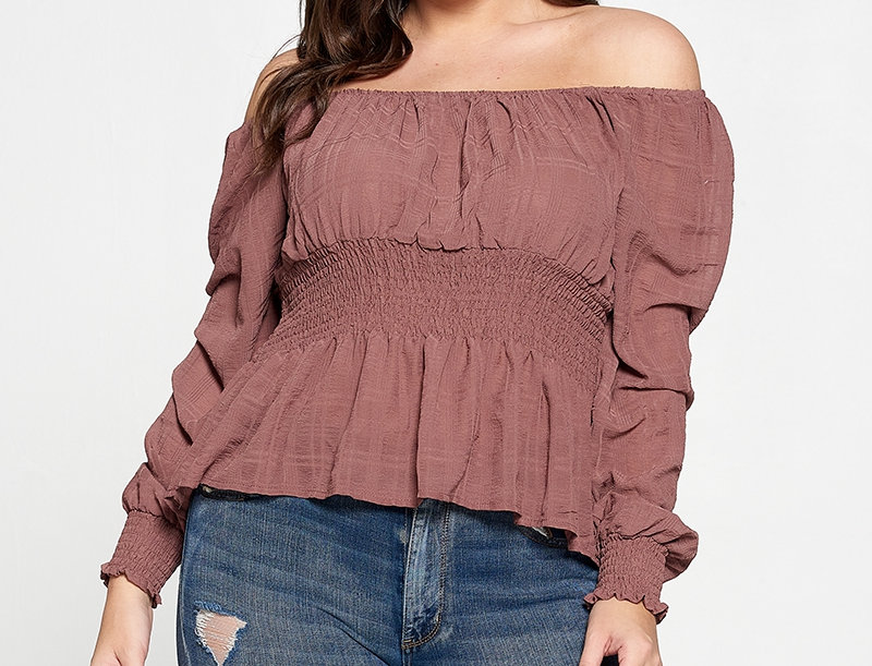 PLUS SIZE - Glorious Morning Top