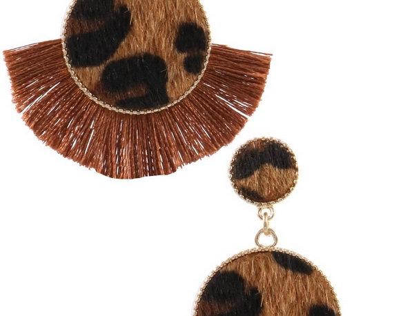 Safari Fiesta Drop Earrings