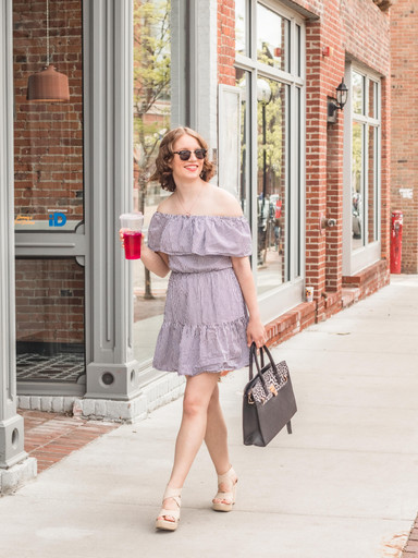 Im Back! A Beautiful Spring Dress from East Coast She Boutique