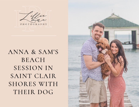 LAKE SAINT CLAIR ENGAGEMENT SESSION WITH ANNA & SAM