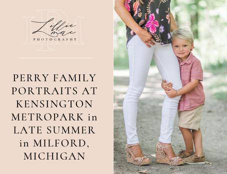 Jamie & Greyson / Family Session / Michigan Portrait Photographer