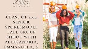 Fall Senior Spokesmodel Shoot for Class of 2022