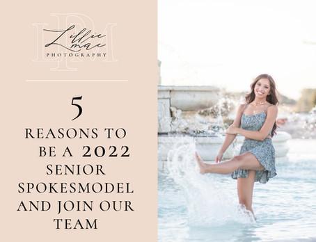5 Reasons to be a Senior Spokesmodel