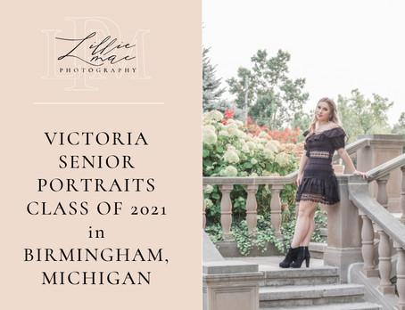 Victoria's / Class of 2021 Senior Portraits / Michigan Portrait Photographer