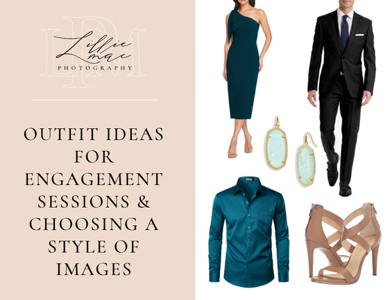 Outfit Ideas For Engagement Portraits Or Couples Shoot