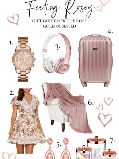 Gift Guide for the Rose Gold Obsessed
